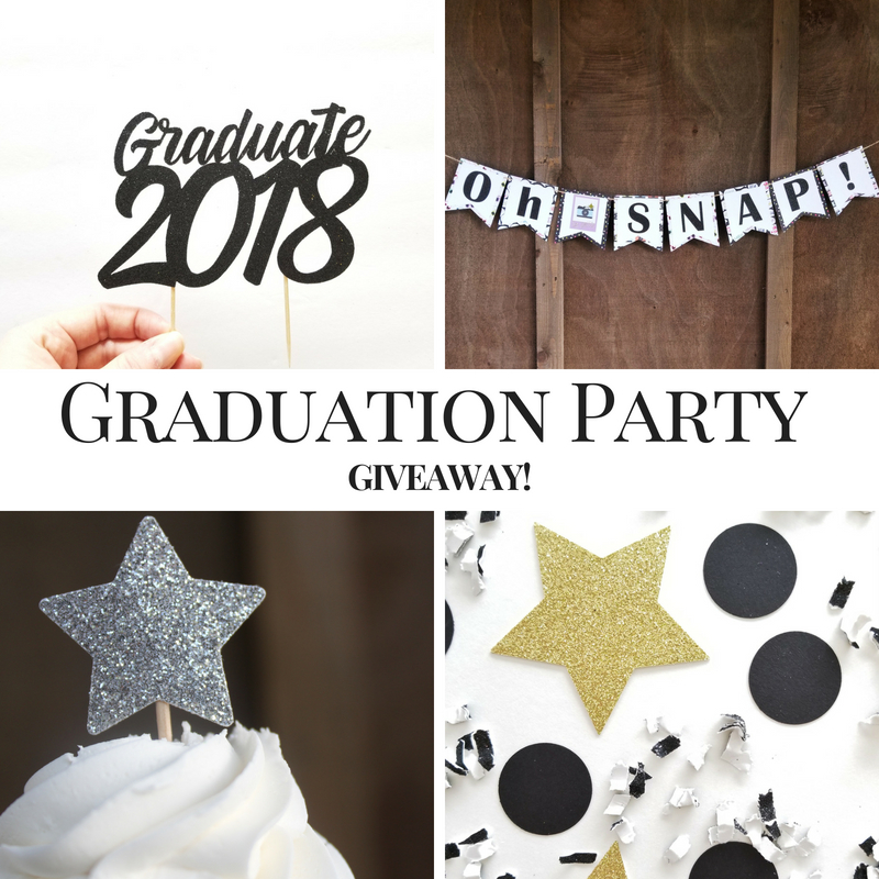Graduation Party Giveaway! | Decoration Package