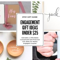 Engagement Gift Ideas Under $25 | Etsy