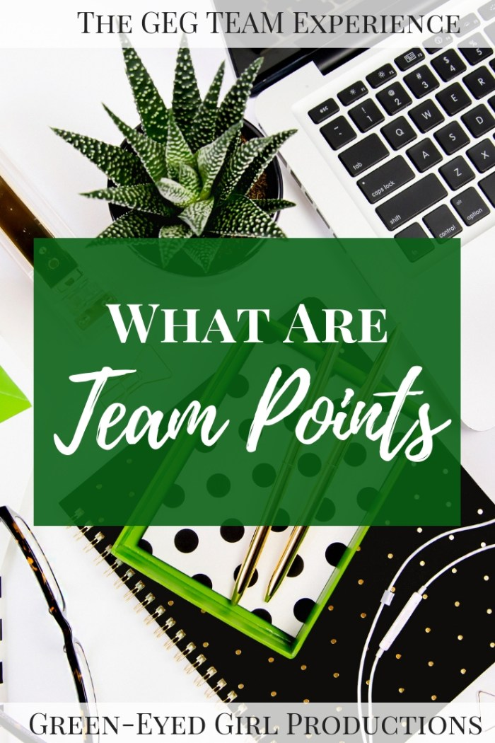 What are Team Points for the GEG Team Experience and Why should you try to earn them? Well... Because the Bride with the most Team Points by the end of the Experience will take home our Affiliate Sponsored GRAND PRIZE!