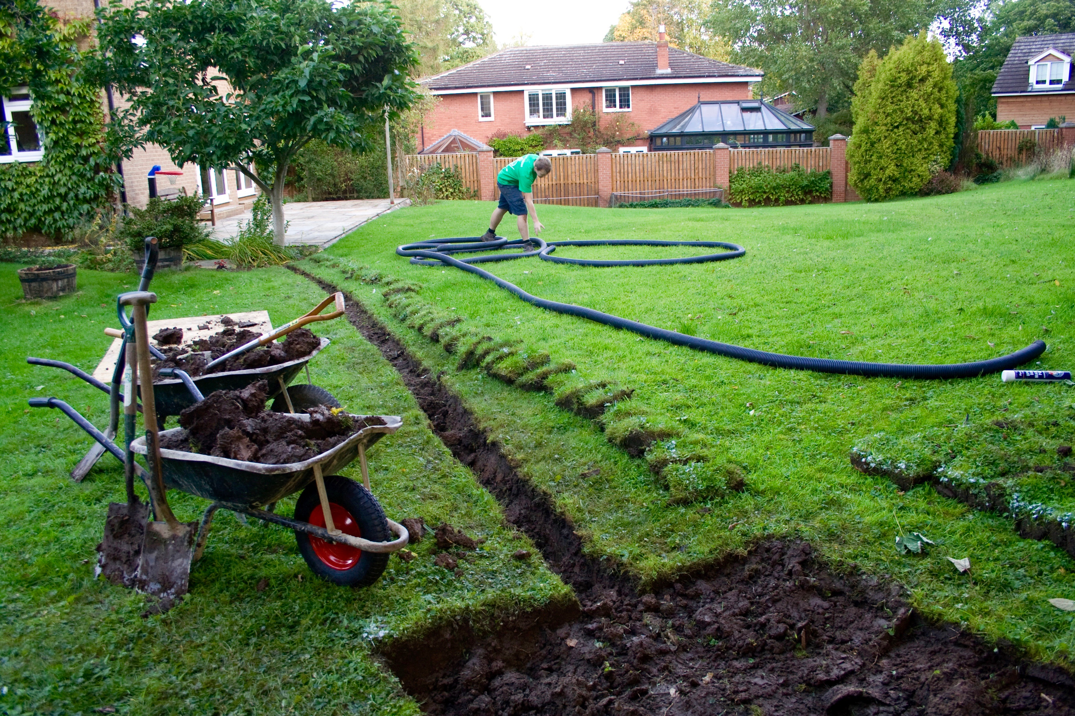 Garden Drainage Solutions Stockton Green Onion Landscaping