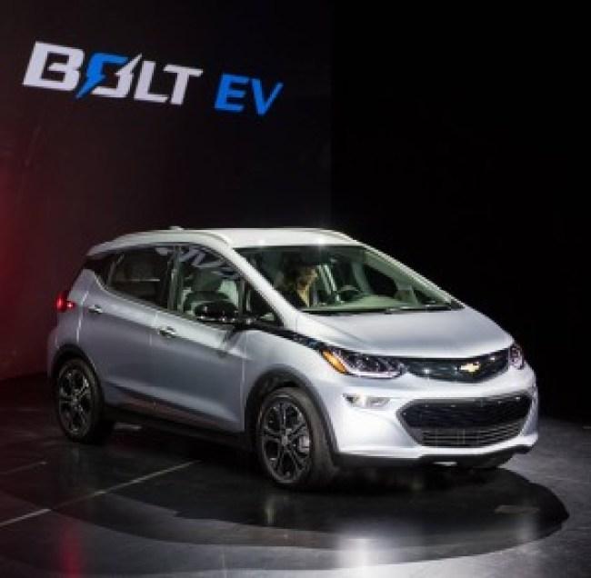 Samochód elektryczny Chevrolet Bolt
