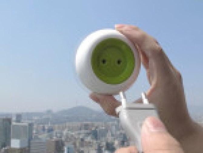 Ekologiczne gadżety - window socket
