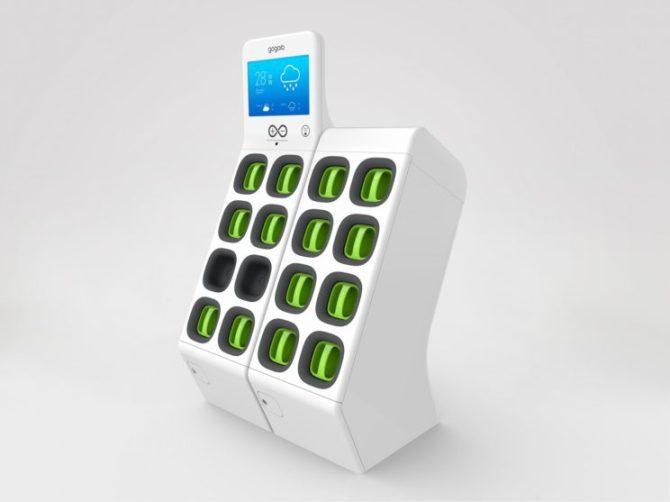 Elektryczne skutery - stacje z bateriami