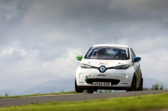 Rajdowe Renault Zoe