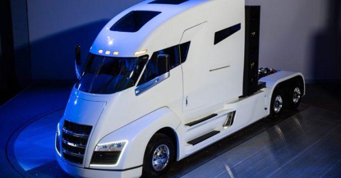 Nikola One to pierwsza wodorowa ciężarówka