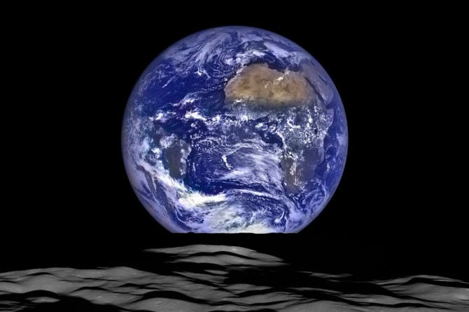 ziemia widok z kosmosu NASA 1