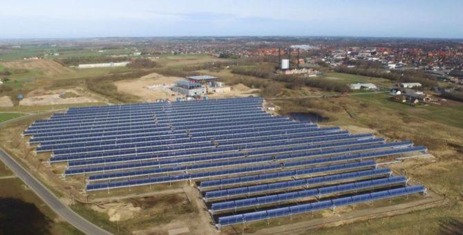 skoncentrowana energia słoneczna elektrownia Aalborg