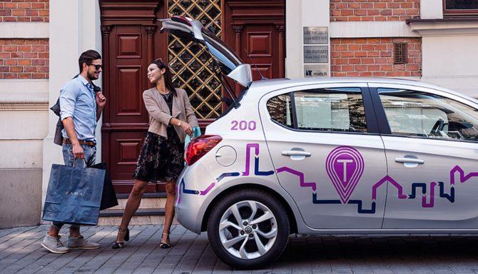 mobilność car sharing traficar