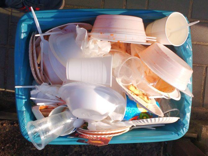 zero waste jednorazowe opakowania