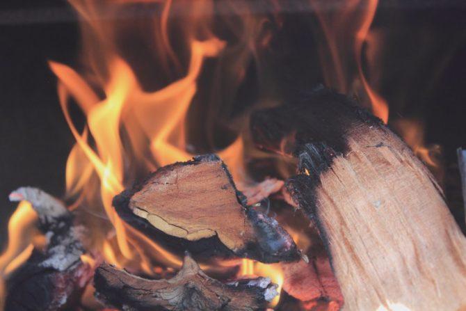 OZE w Polsce spalanie drewna biomasa