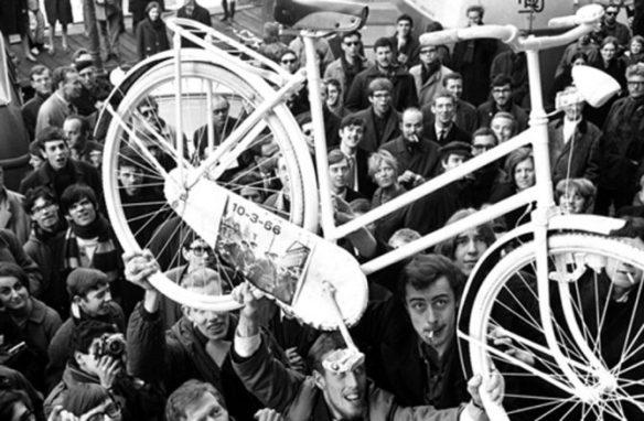 pierwszy rower miejski provo amsterdam