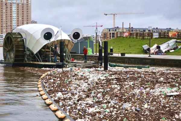 walka z plastikiem mr. trash wheel