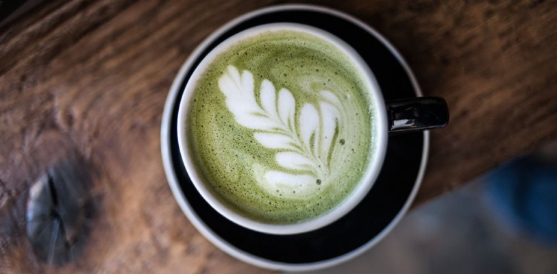 Matcha Green Tea Latte For Two