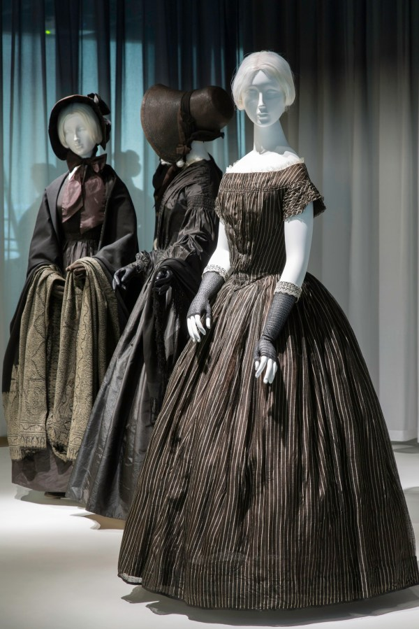 Victorian Mourning Dresses
