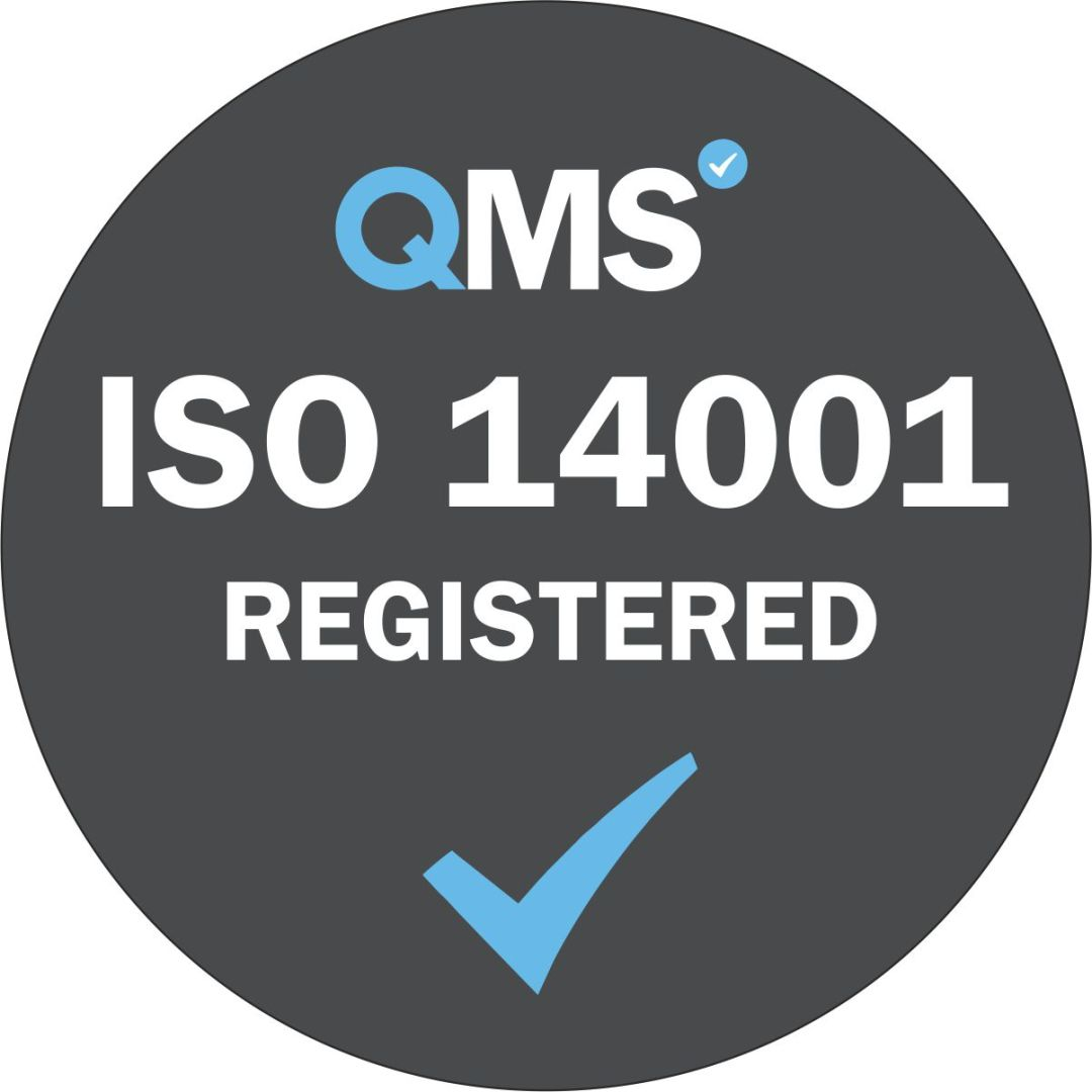 ISO 14001 Registered - Grey