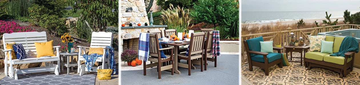 Durable Poly Patio Furniture at Green Acres Outdoor Living