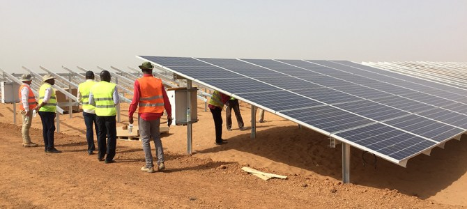 Senegal unveils Largest Solar Park in West Africa