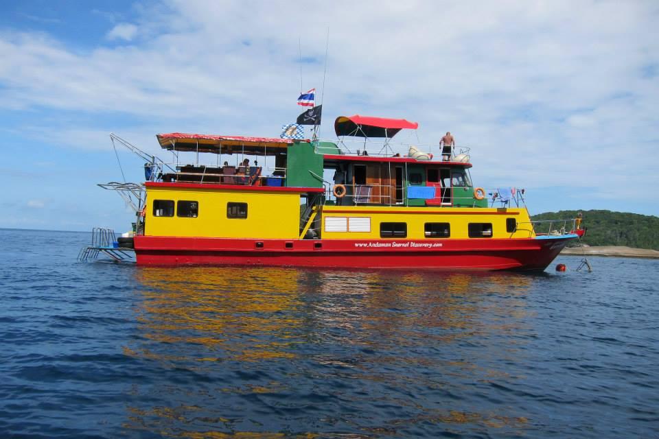 The Reggae Queen a similan snorkel liveboard in thailand