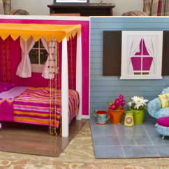 18 Doll Sofa Diy Professional Cleaners Make A Collapsible Room For An Photo Courtesy Of American