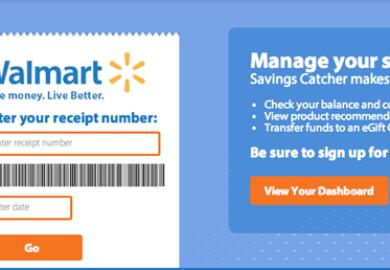 Walmart Savings Catcher Login