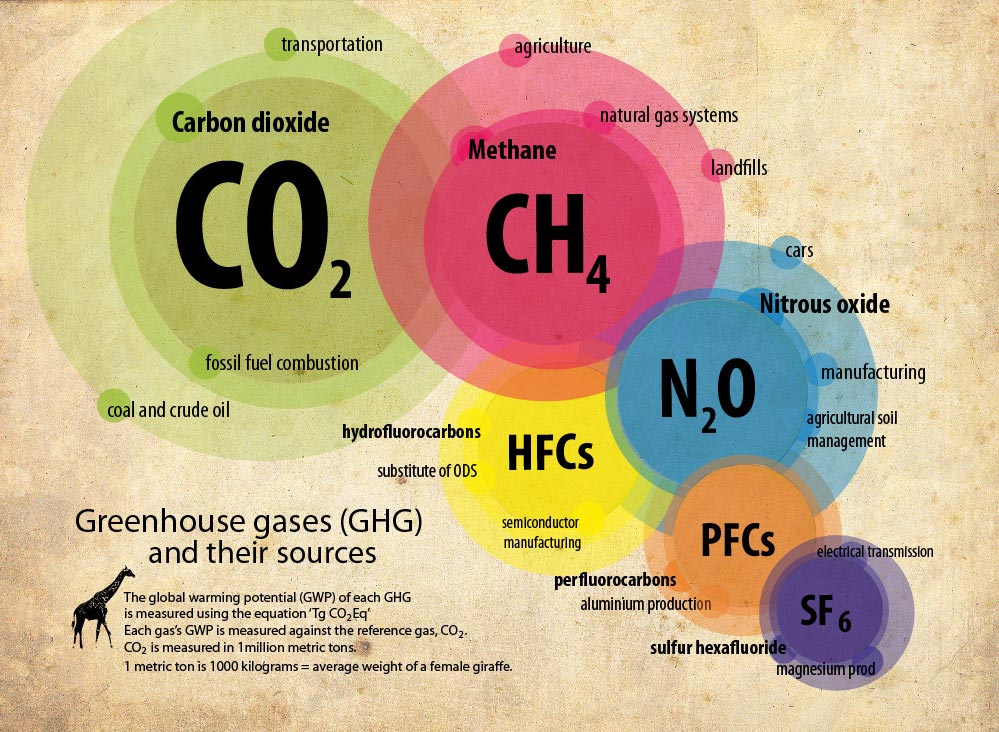 What Are Greenhouse Gases Main Sources and Climate Impact