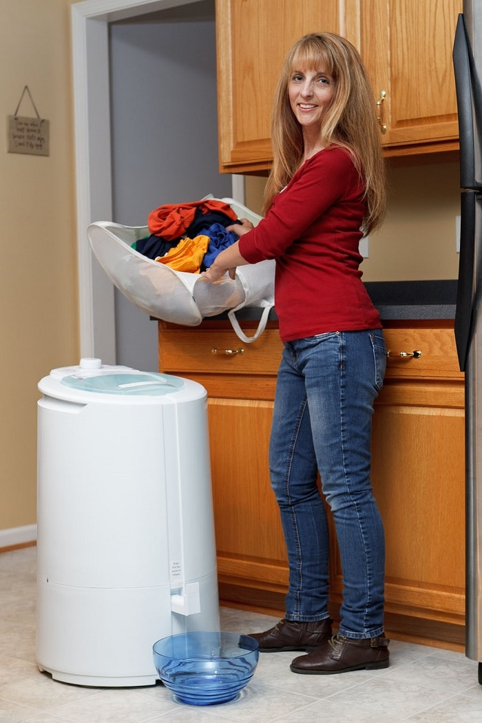 Save Money and Energy on Laundry  Spin Dryer