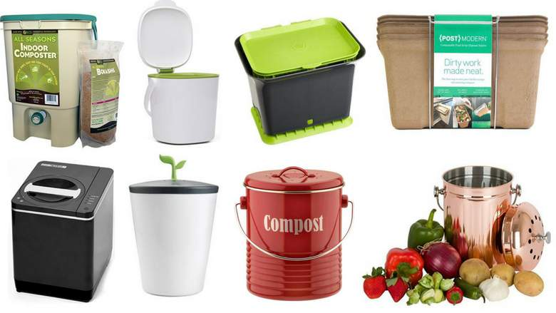 compost bin for kitchen lowes faucets delta how to make your own indoor and why you should