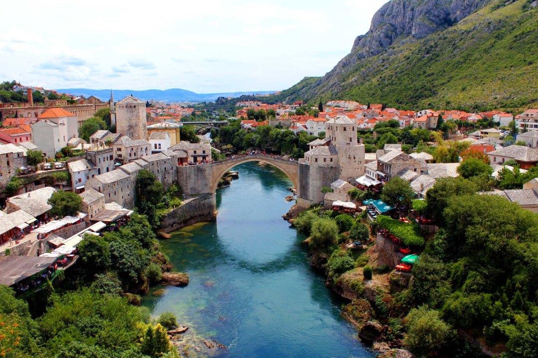 Mostar. Day trip to Bosnia & Herzegovina