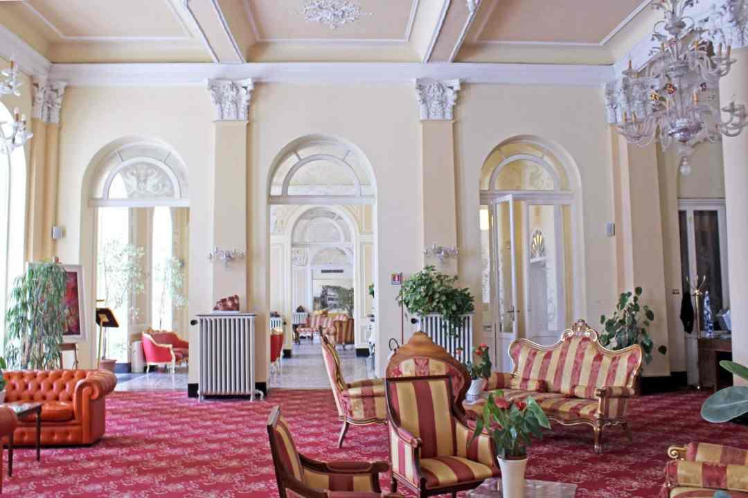 Grand Hotel Cadenabbia Lobby