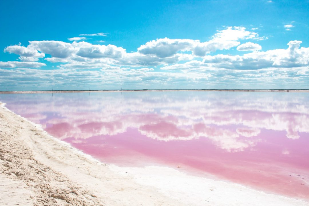 Las Coloradas Mexico Map.Las Coloradas The Wonderful Pink Lakes Of Mexico Green And Turquoise