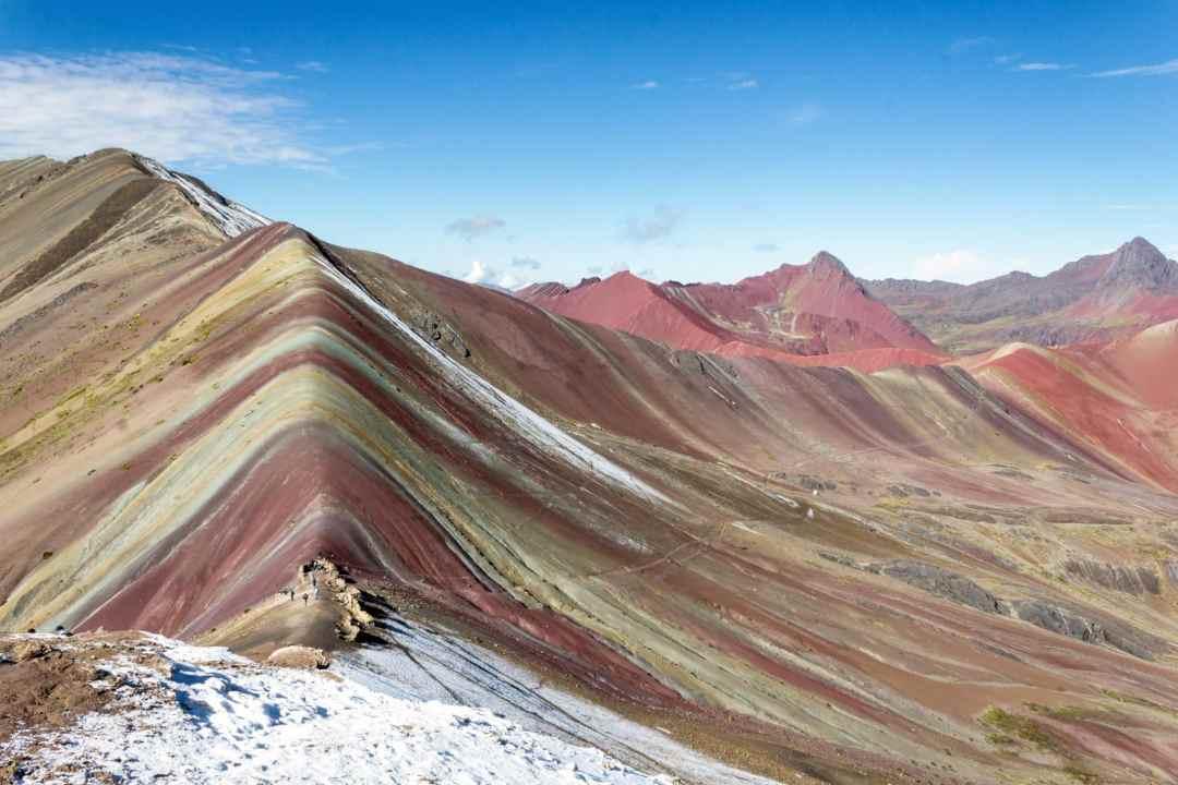 Rainbow Mountain Peru Vinicunca hike