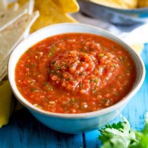 Salsa Medium Red