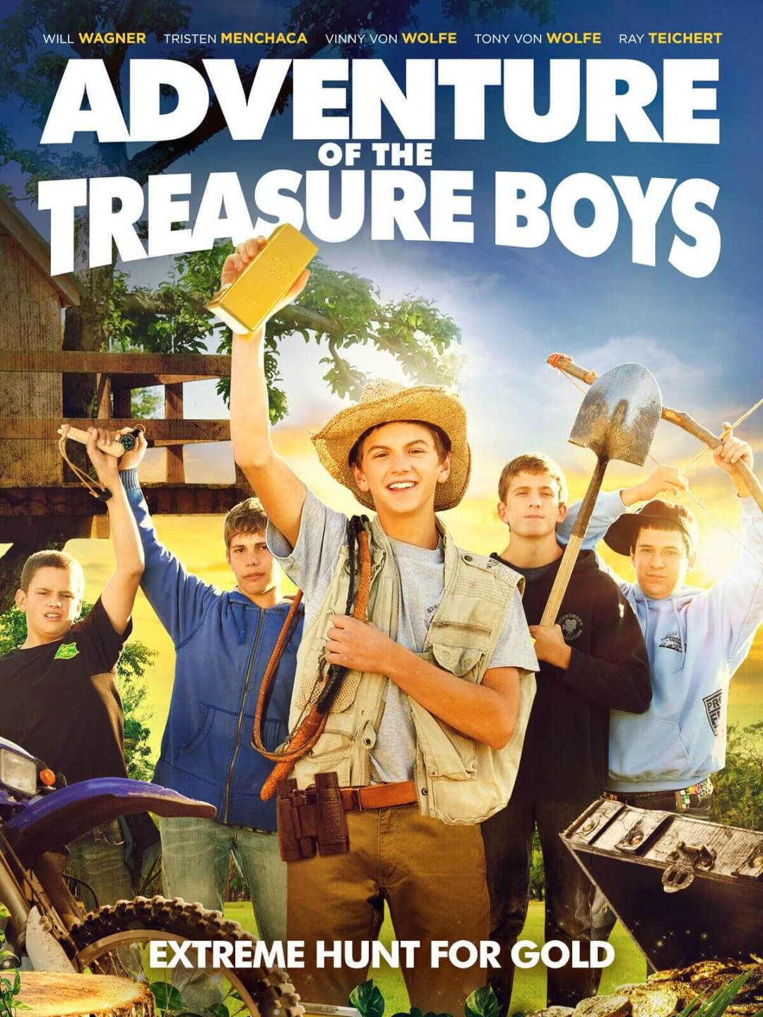 ADVENTURE OF THE TREASURE BOYS