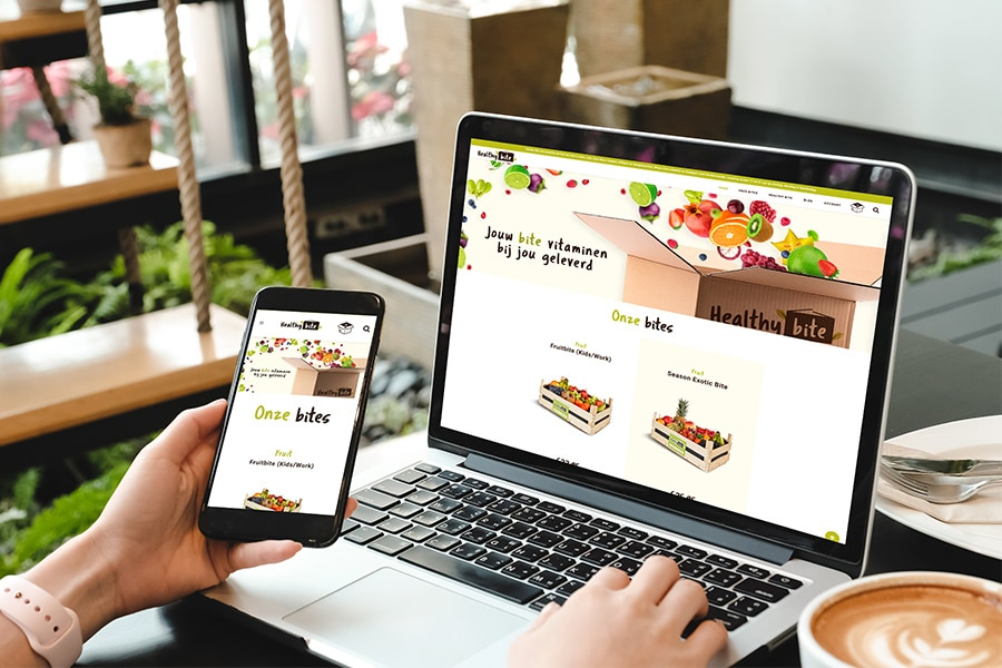 Healthy Bite webdesign Aalst