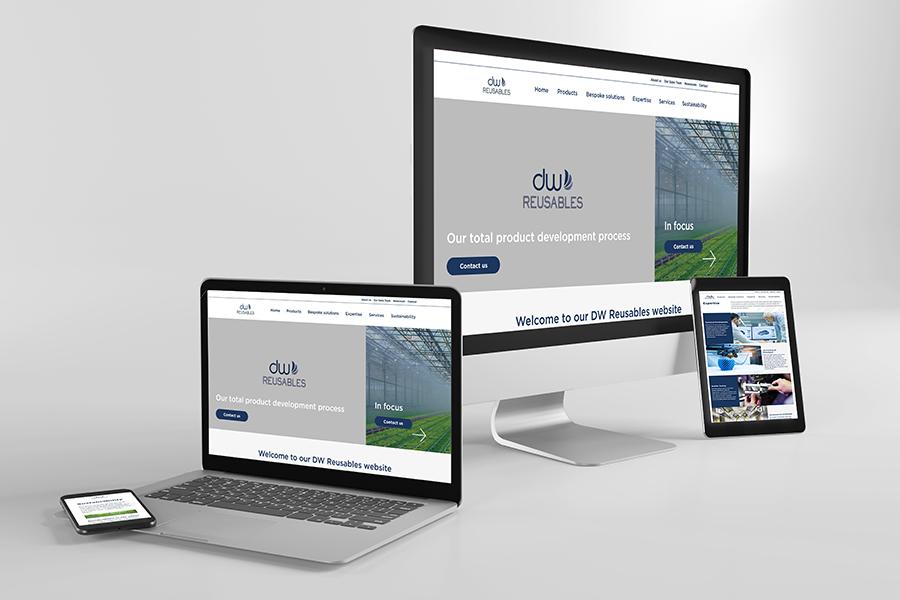 DW Reusables website