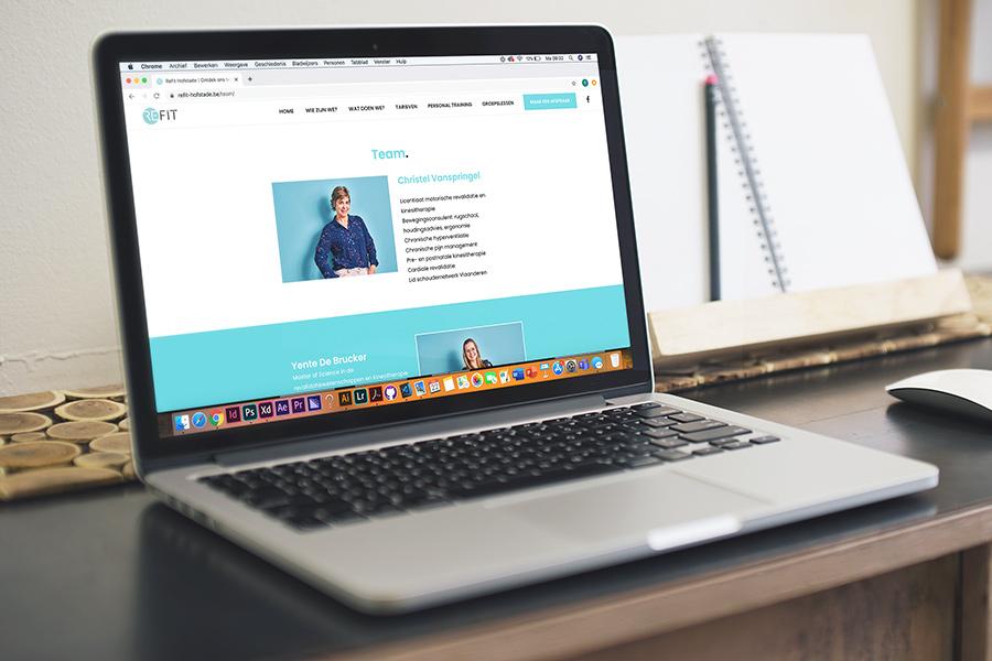 Webdesign Hofstade Refit
