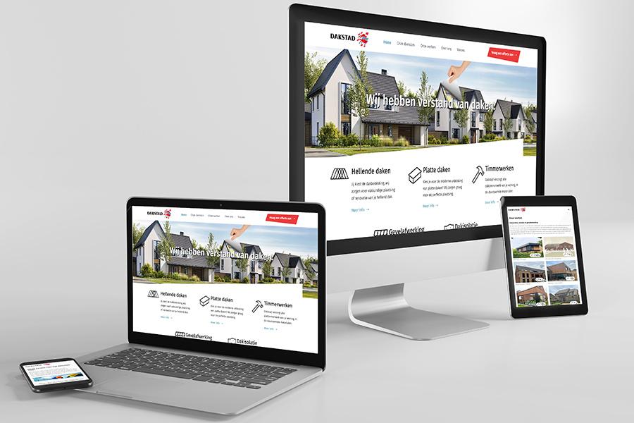Dakstad Aalst webdesign