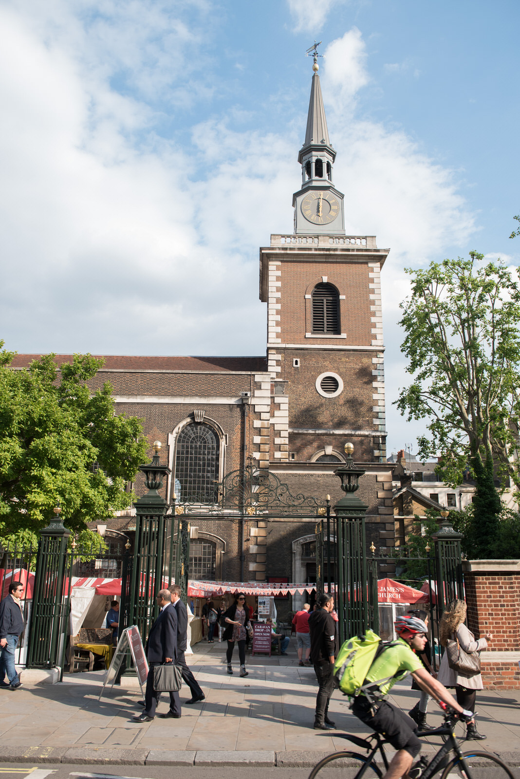 The venue, St James Church Piccadilly