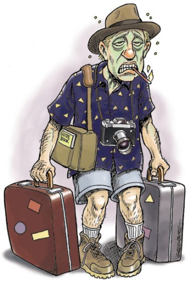 Image result for sickness while traveling