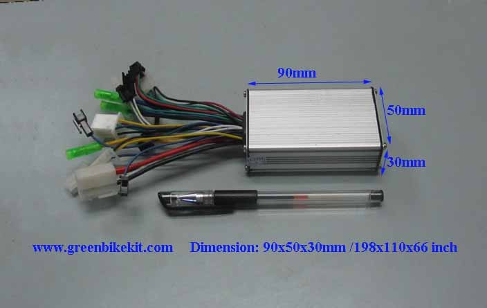 30a 250 Volt Wiring Diagram 24v250watts 6mosfets Brushless Controller For Bldc Hub