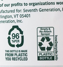 SPC's new recycling label
