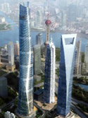 Shanghai Tower trio