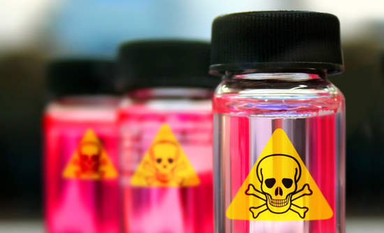 toxic chemicals in commercial products