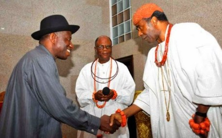 Jonathan and Olu of Warri