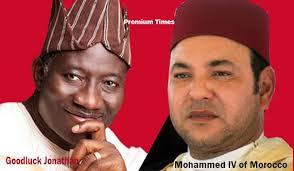 Jonathan and Moroccan leader