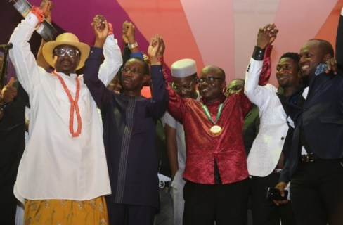 Uduaghan and entertainers