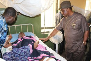 Obiano visits accident victim