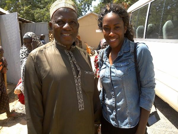 Ozi Usman with Karen