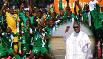 Buhari and nigerian athlethes