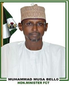 FCT Minister, Musa Bello